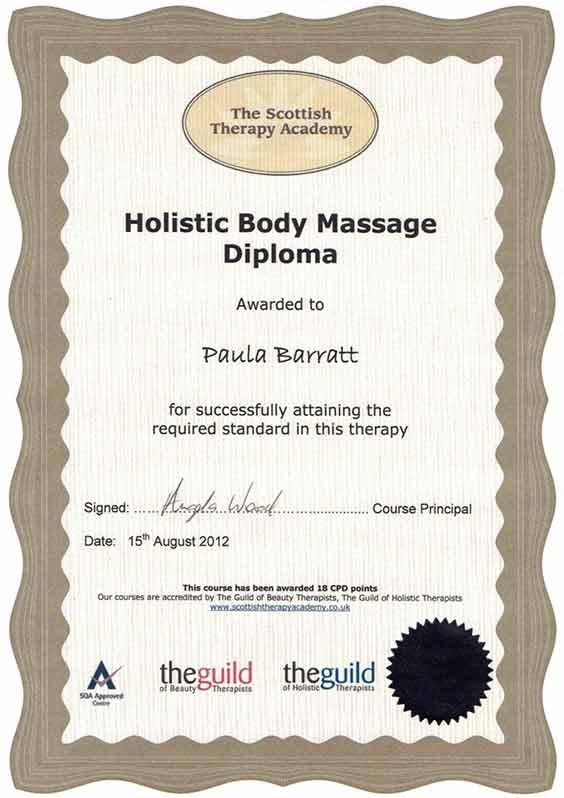 Holistic Body Massage Diploma