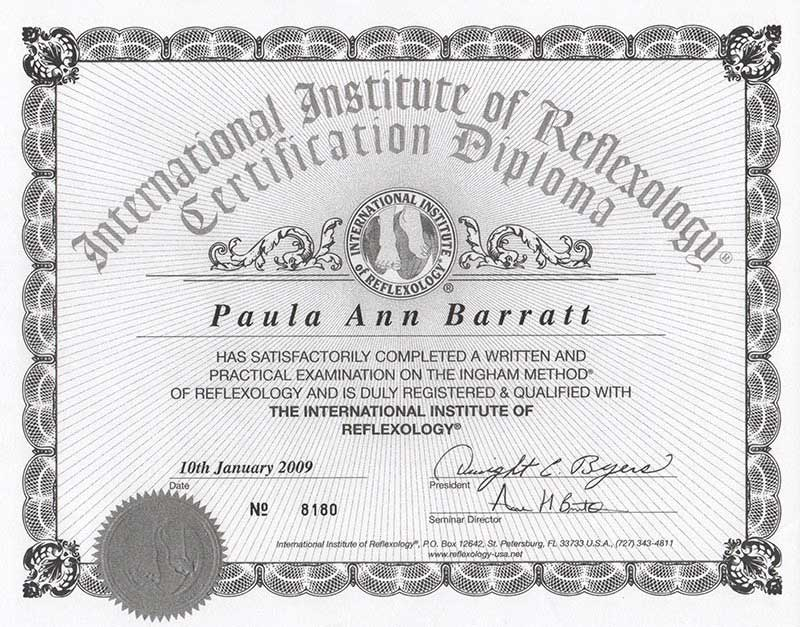 International insititute of Reflexology ®